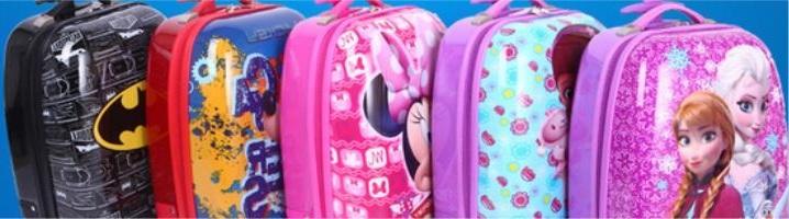 tas koper anak, tas laptop karakter lucu